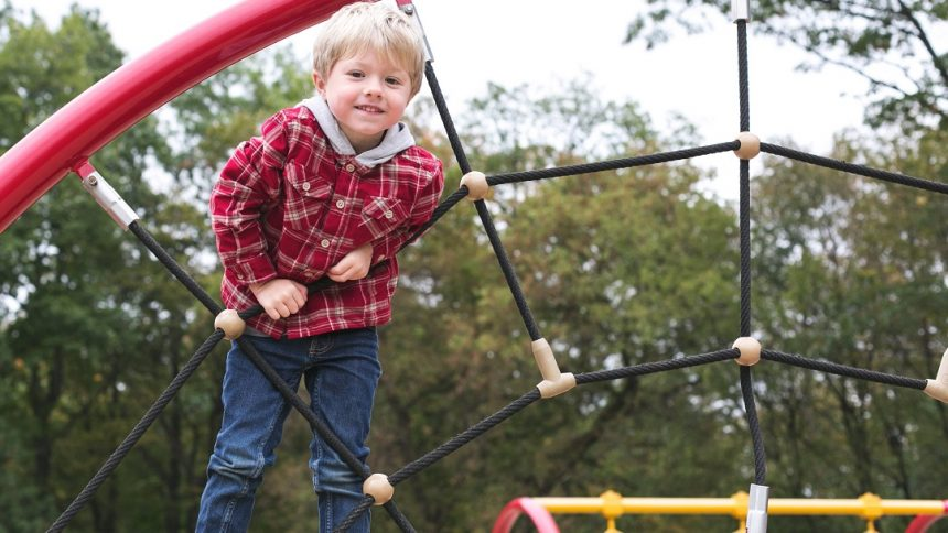 How much free space will you need for an outdoor playset in your venue