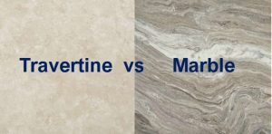 travertine or marble