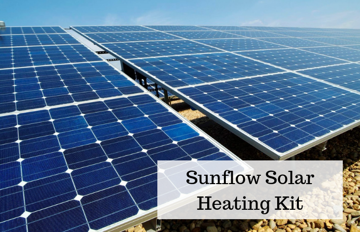 Sunflow Solar Heating Kit