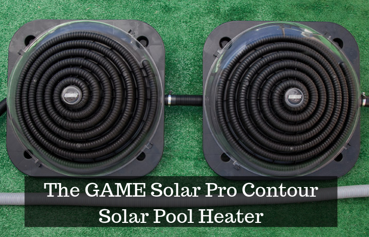 The GAME Solar Pro Contour Solar Pool Heater