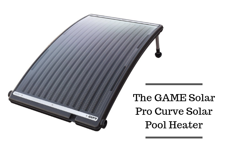 The GAME Solar Pro Curve Solar Pool Heater