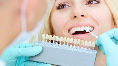 Tooth colour restoration